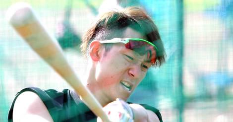 西川、レギュラー奪取へ日本ハム近藤と合同トレ「みんな意識が高い」