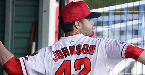 前回登板の不安を払拭、先発・ジョンソンが6回無安打無失点の快投!