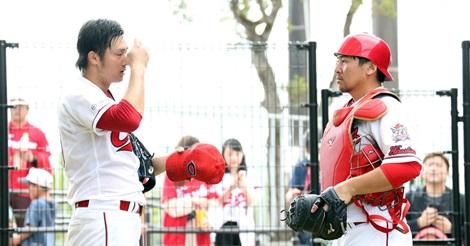 會澤が床田に苦言「このままで開幕を迎えて通用する世界じゃない!」