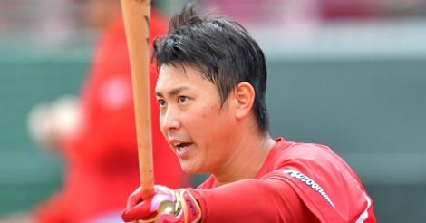 堂林、チャンス逃さない…松山離脱、バティスタ解雇で開幕一塁射程!