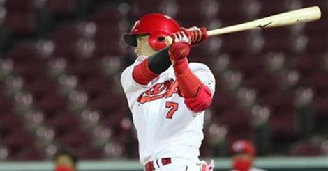 堂林が3号逆転満塁ホームラン!三塁スタメンで2安打5打点の大暴れ