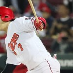 堂林翔太が新シーズンを前に、キャリアハイの盗塁数を目標に掲げた!