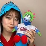 稲村亜美、『カープ女子』になった姿を公開「可愛い」「サイコー!」