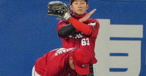 大逆転負けで、奥川にプロ初勝利献上…誠也2発もフイ、松山負傷退場
