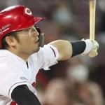 誠也、勝利呼んだ二塁打×2!前夜2発に続き躍動も、本人は浮かれず