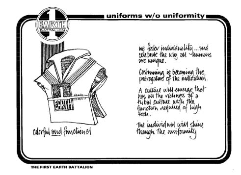 Manual page discussing the soldier's uniform