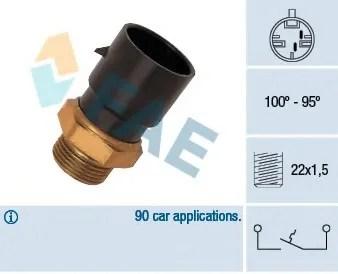 opel astra f 1995 wiring diagram 2 pickup 1 volume tone 3 way switch temperature radiator fan parts