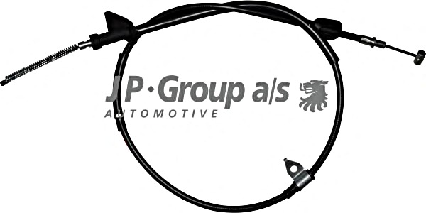 Parking Brake Cable Right Drum Fits OPEL Agila SUZUKI