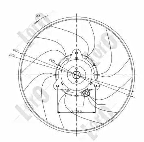 Radiator Fan For CITROEN Berlingo / First Box Mpv Xantia