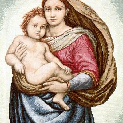 0077_Sixtusi madonna (Raffael)