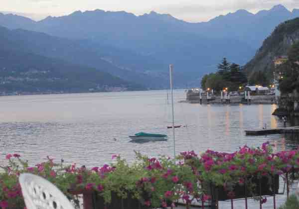 View of Lake Como from Varenna