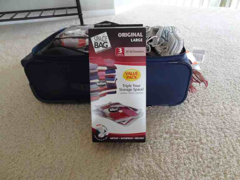 The Original Space Bag, Travel Product Review