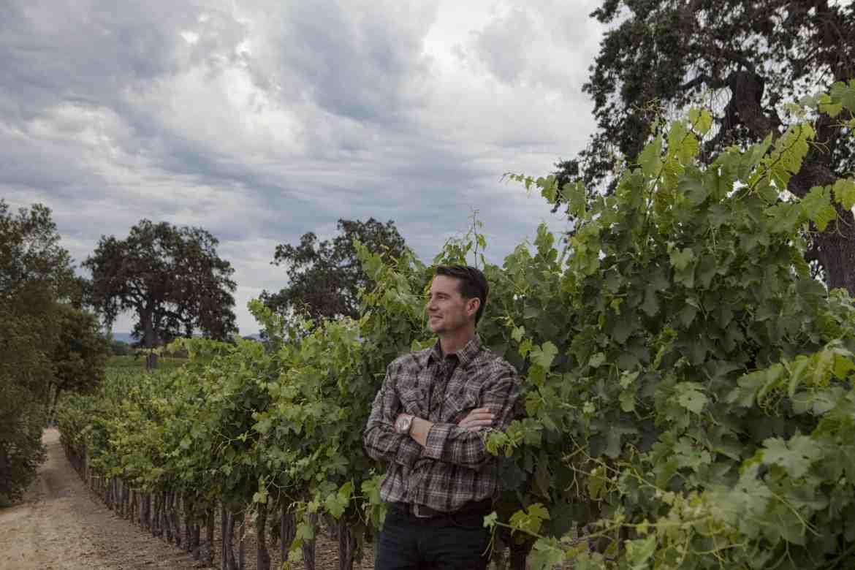 Austin Hope of Hope Family Winery