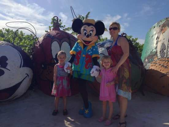 characters sightings at Castaway Cay