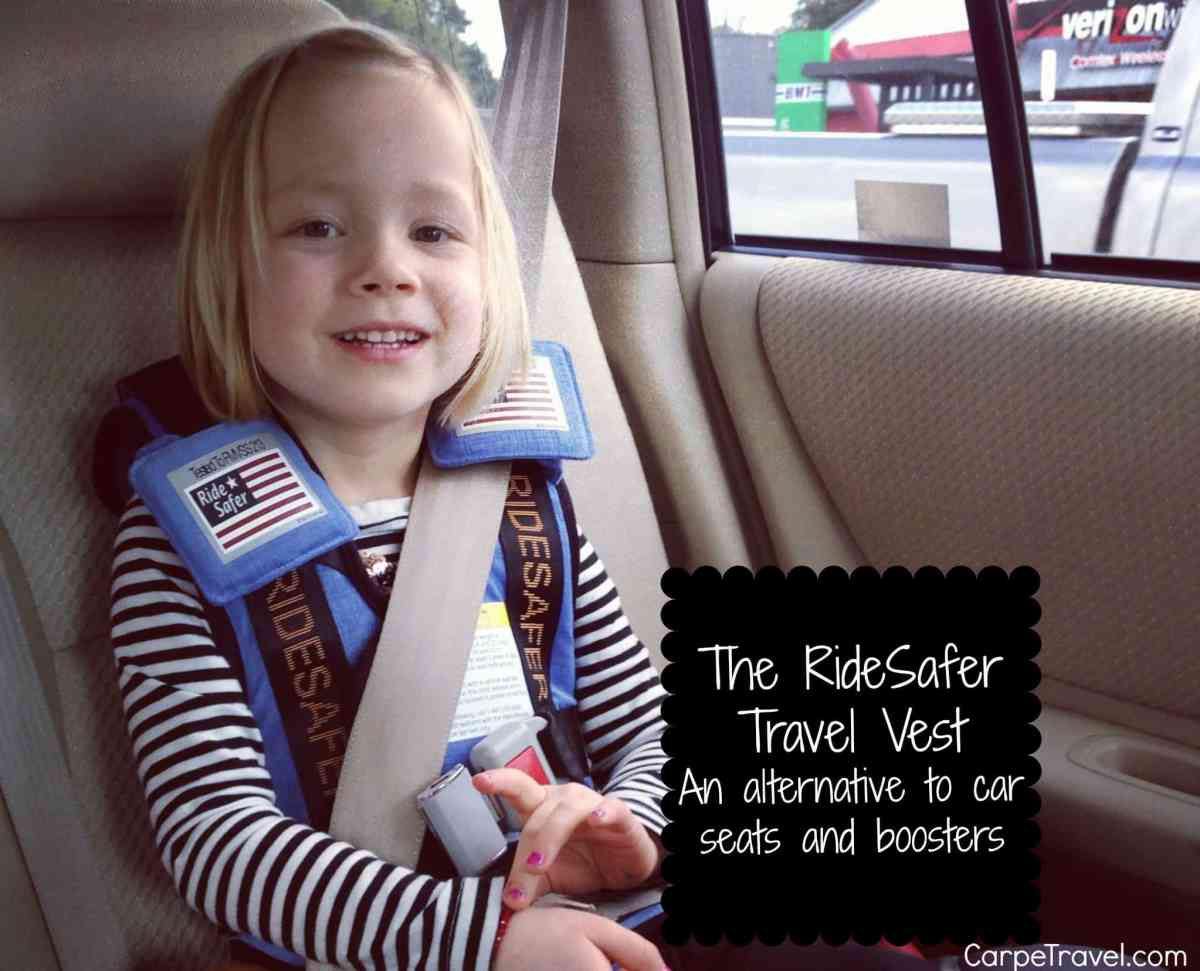 Review Of The RideSafer Travel Vest For Kids