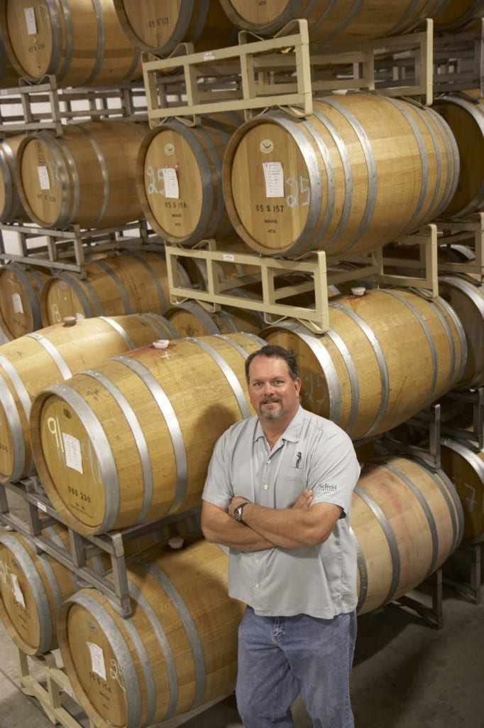 Scheid Vineyards: David Nagengast, Scheid Vineyards winemaker
