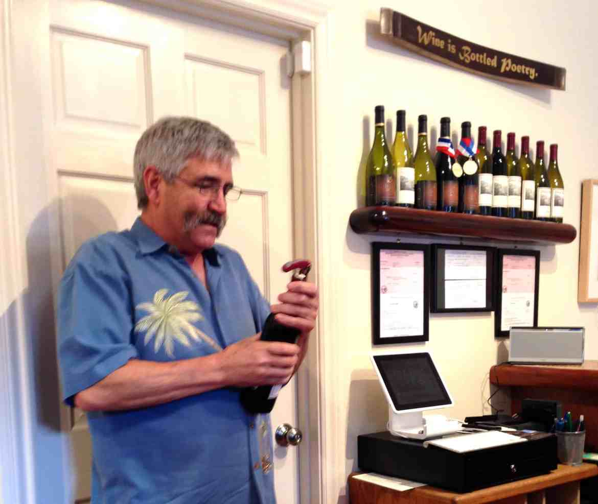 Jeffery Blair of Blair Wines in Monterey