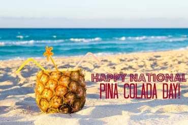 National Pina Colada Day