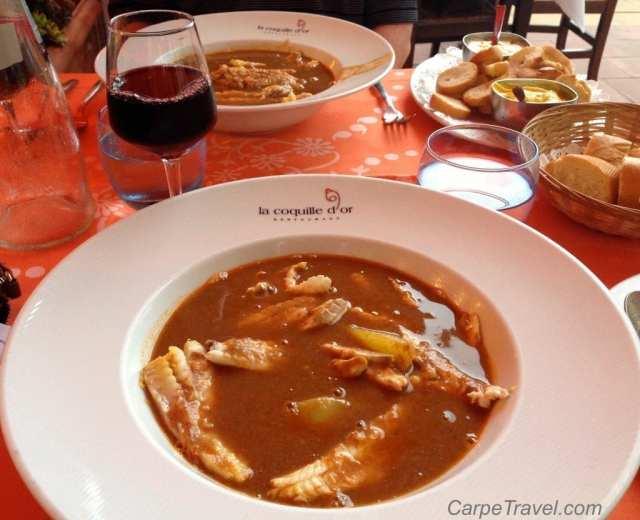 Restaurants in Menton