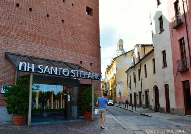 outside NH Santo Stefano