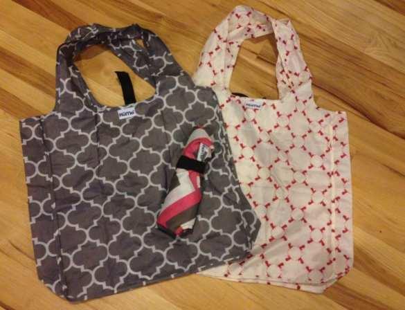 packing hacks - reusable bags