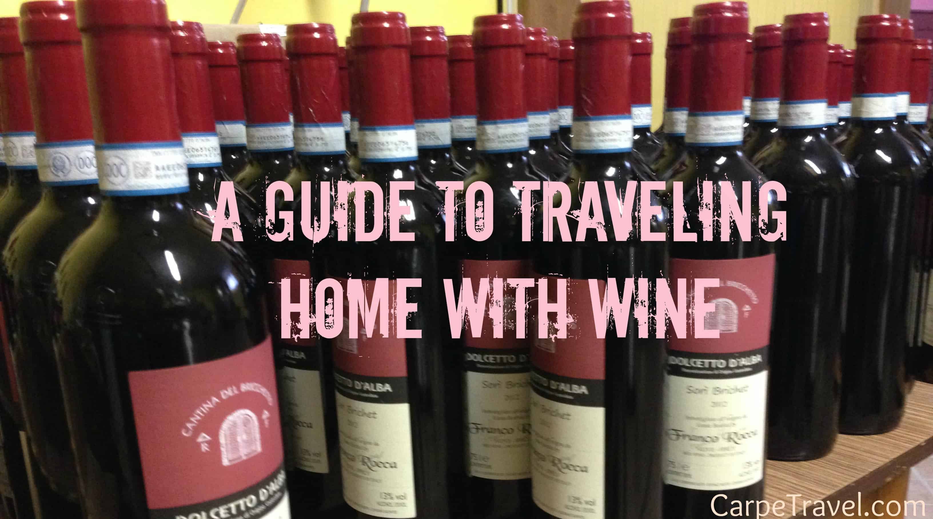 5 Tips on Shipping Wine in Italy