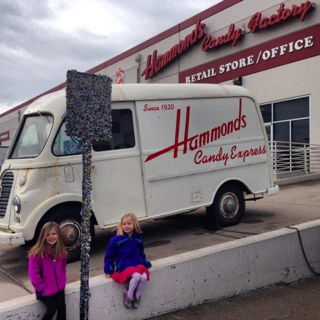 Hammonds Candy Tour, great free thing to do with kids in denver