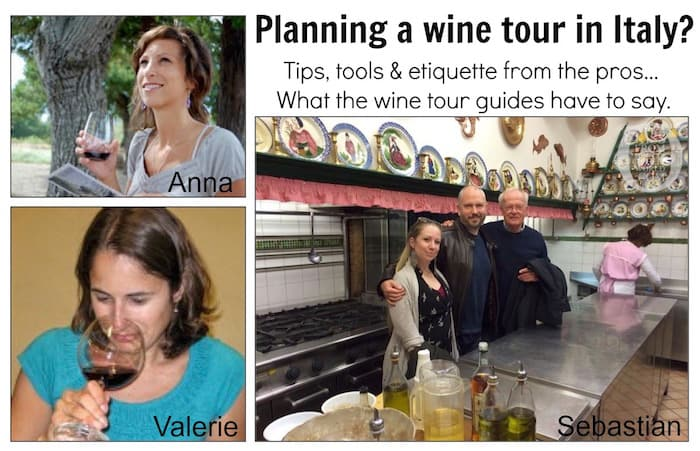 wine tour guides