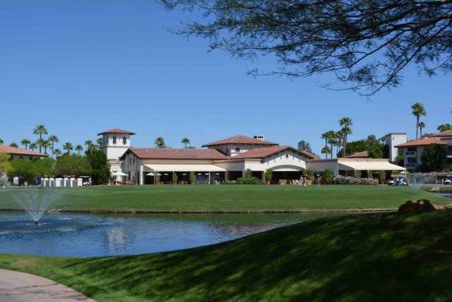 Golf course at the Arizona Grand in Phoenix