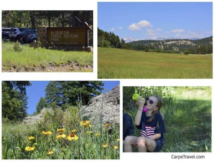 Six Kid Friendly Hikes Near Denver: Three Sisters hike in Evergreen
