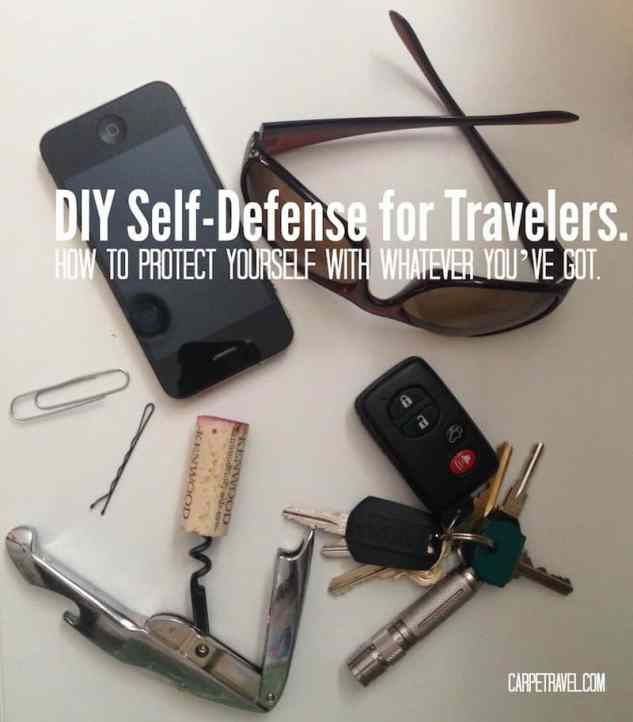 DIY Self-Defense for Travelers. How to Protect Yourself with Whatever You've Got. Tips from Survival Savvy, Terry Shappert, Green Beret.