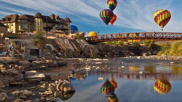 Top Hot Springs in Colorado: The Springs Resort & Spa in Pagosa Springs