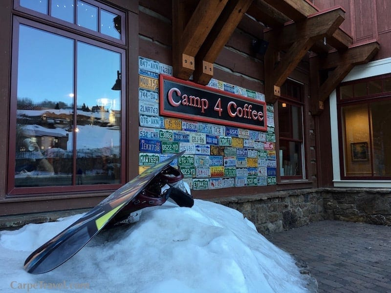 If you're going to Crested Butte Colorado, your morning coffee is a must from Camp 4 Coffee. There are two locations - in the mountain village area and downtown Crested Butte.