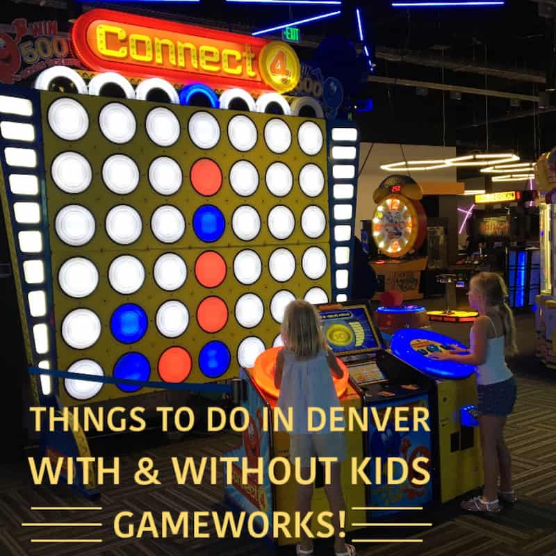 Things to do in Denver with Kids (and without): GameWorks. Click over to read the full review of Gameworks in Denver from Carpe Travel's editor (and her kids).