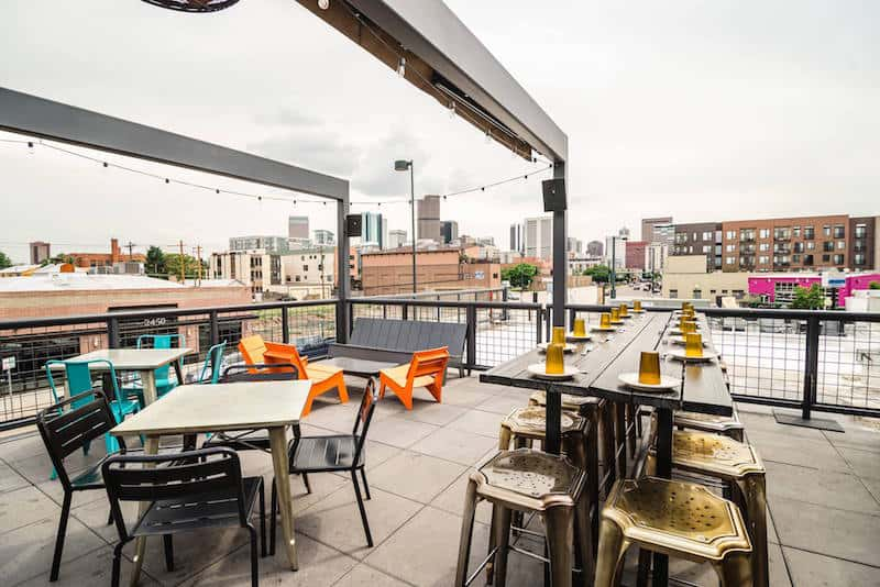 Best Rooftop Bars in Denver: Los Chingones. Click over for the full list of the best rooftop bars in Denver.