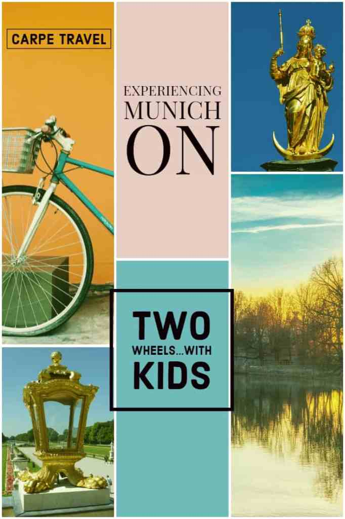 Munich Bike Tour: Experiencing Munich on Two Wheels...with kids