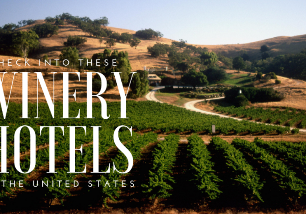 Winery Hotels in the United States: It's one thing to visit wine country, it's another to immerse yourself in it. Staying onsite at a working vineyard is the perfect way to do just that. With every one of the 50 states in the United States producing wine, a visit to a winery hotel can easily be done – and we're not just talking about winery hotels in Napa Valley or Sonoma, although they are home to some great ones. This list includes those as well as winery hotels in Alaska, Idaho, Colorado, New York and several other underrated wine regions to help enhance your next wine country experience…
