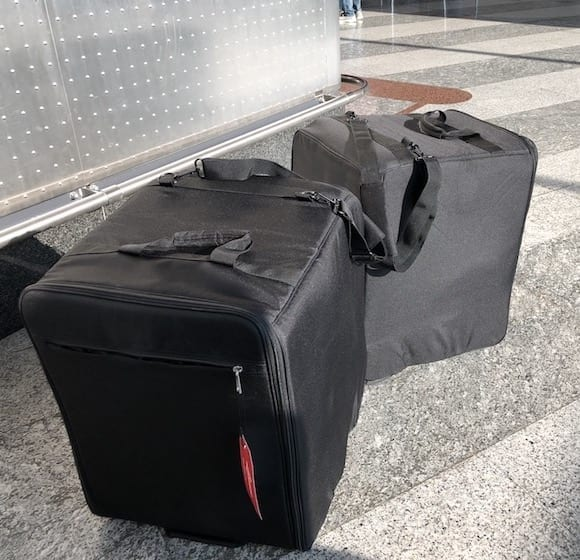 Wine Check Luggage