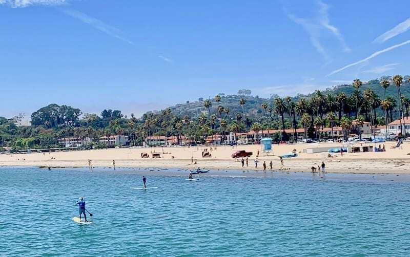 Things to do in Santa Barbara Funk Zone - SUP
