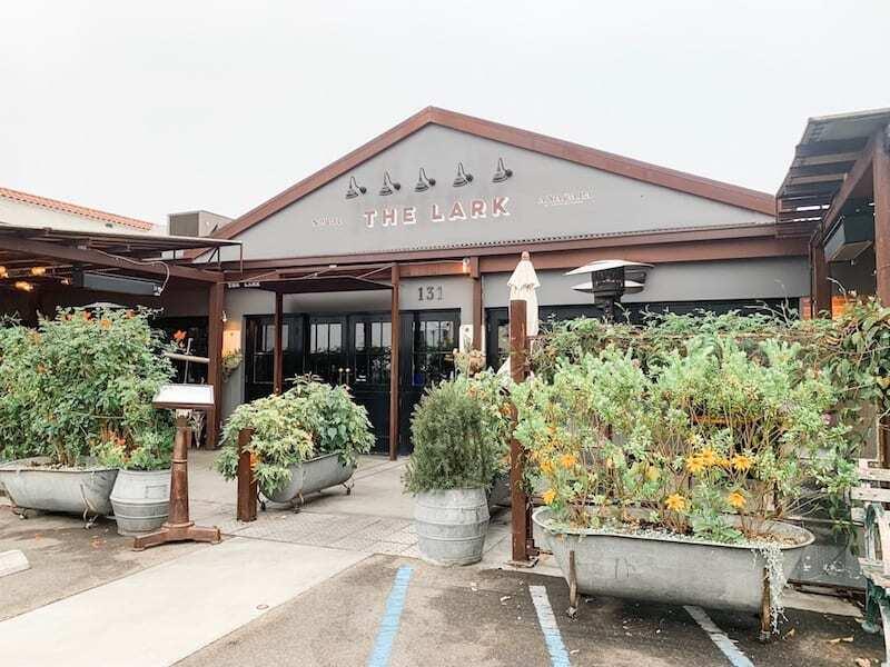 Santa Barbara Funk Zone Where to Eat - The Lark
