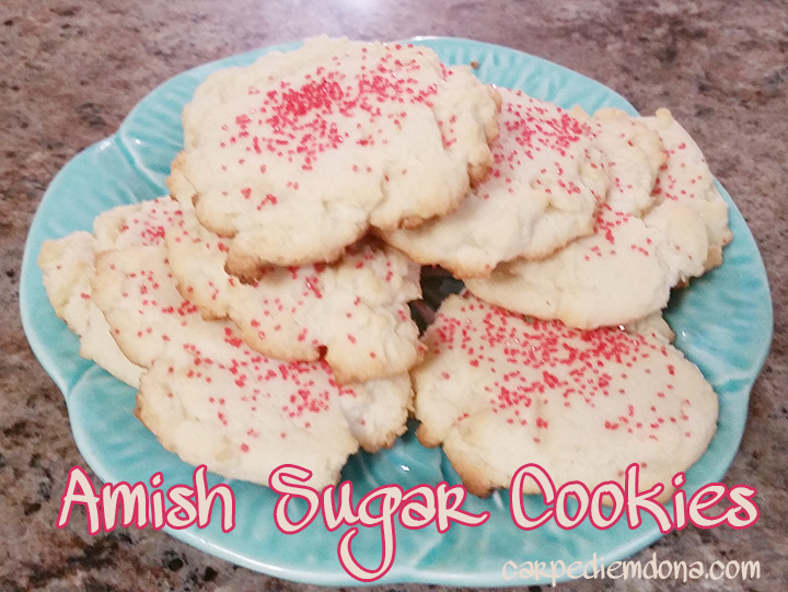 Taste of Home Amish Sugar Cookies