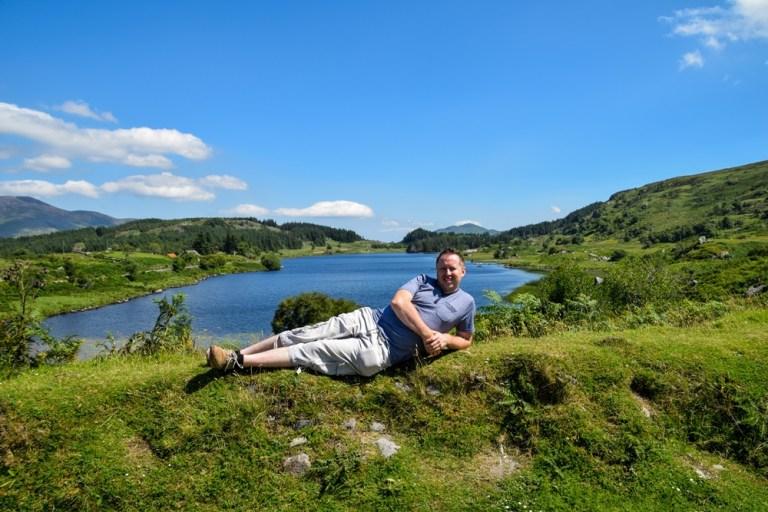 Looscaunagh lake