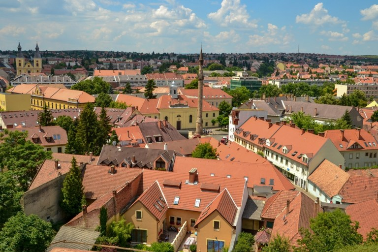 Rooftops of Eger