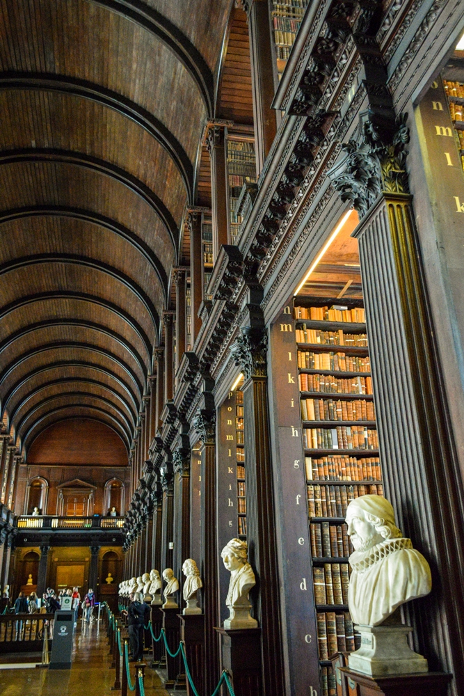 Long Room of Trinity Library