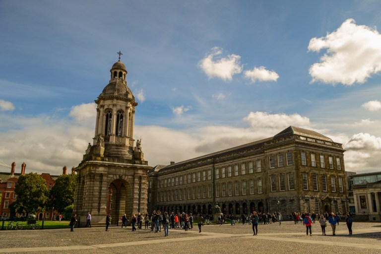 The Library and Campanile Trinity
