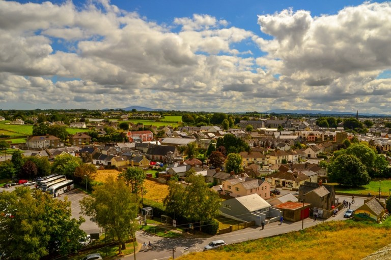 The town of Cashel, Tipperary