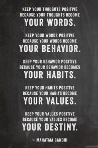 Your Words - Mahatma Gandhi