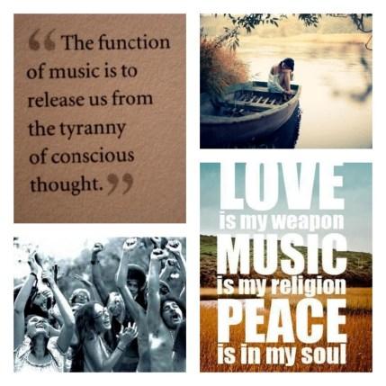 Love, Music & Peace