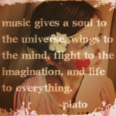 Plato on Music! Love it.