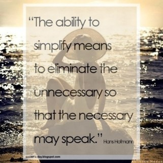The ability to Simplify